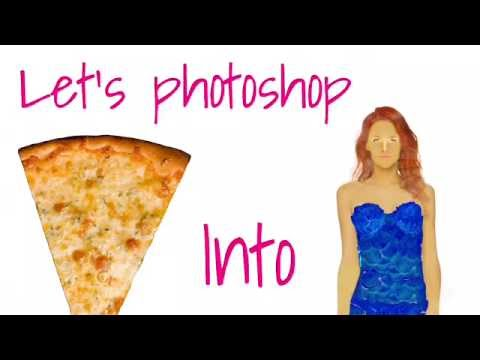 Let's Photoshop// A Slice Of Pizza Into A Model// Erin Schmidt