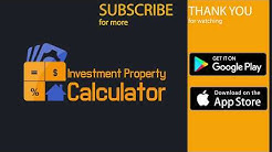 Investment Property Calculator App Demo