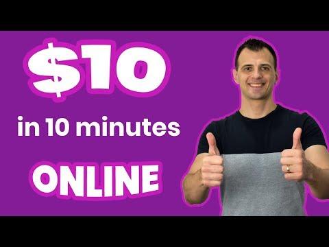 Easy Ways To Make Money Online 2018: $10 in 10 mins