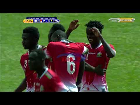 Azam TV -  CECAFA: KENYA VS RWANDA (2-0)  FULL HIGHLIGHTS (3/11/ 2017)