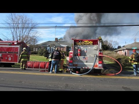 Box 1750 Working Commercial Structure Fire 11/20/2017