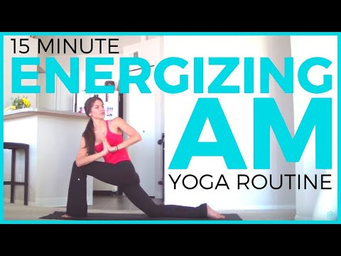 15 minute Energizing Morning Yoga Routine | Morning Yoga to Wake Up
