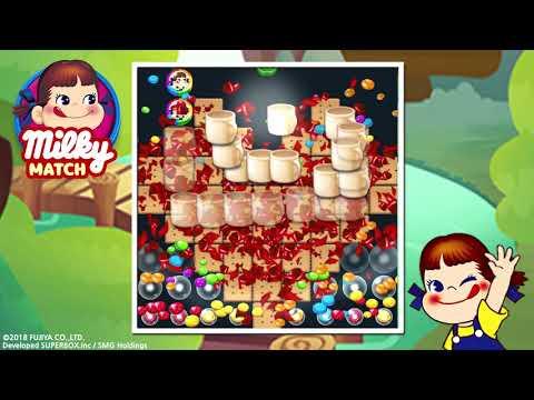 ミルキーマッチ:ペコちゃんパズルゲームのおすすめ画像1
