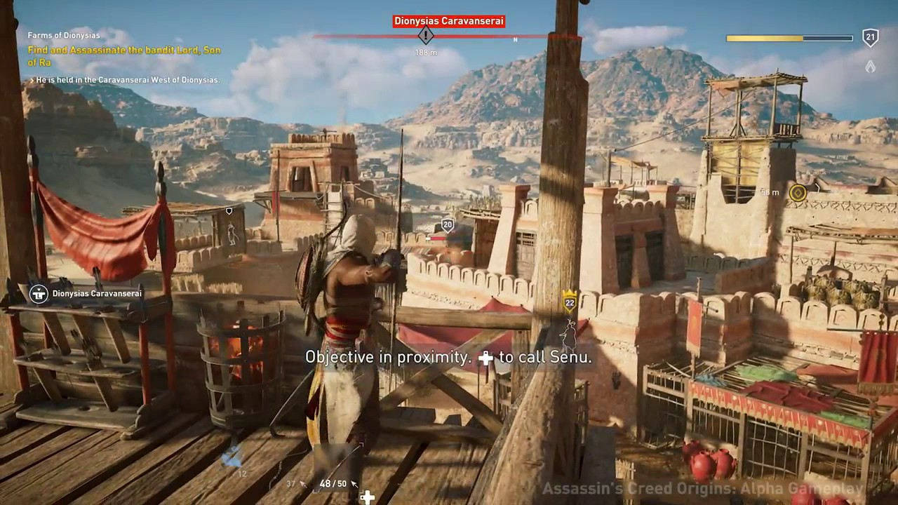 Exclusive Prison Gameplay L Assassin S Creed Origins Youtube