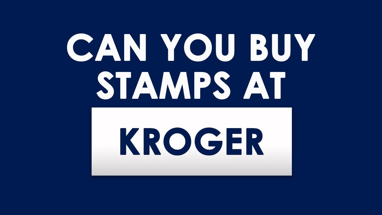Where to buy stamps - Does Kroger Sell Stamps Where To Buy