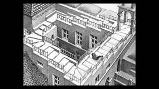 Escher Eddie Murphy falling down the steps