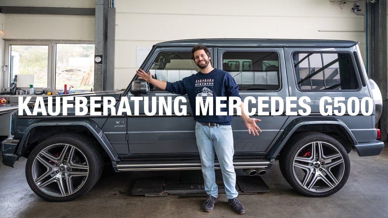 Kaufberatung Mercedes G500
