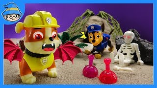 Paw Patrol became Dracula! Run away from the haunted house. thumbnail