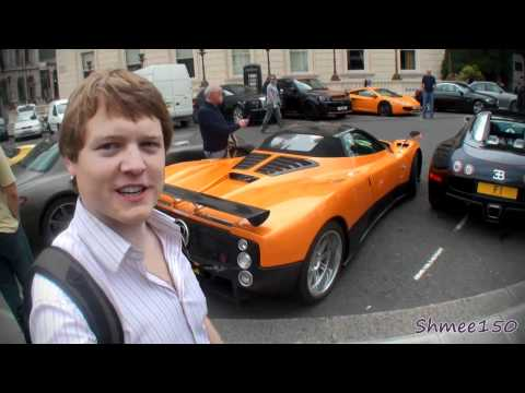 [VLOG] Supercar Tour - Veyron, Zonda F, Carrera GT, One-77, Enzo, F50 etc!