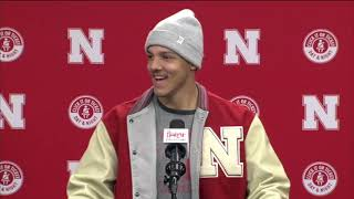 Adrian Martinez previews Iowa