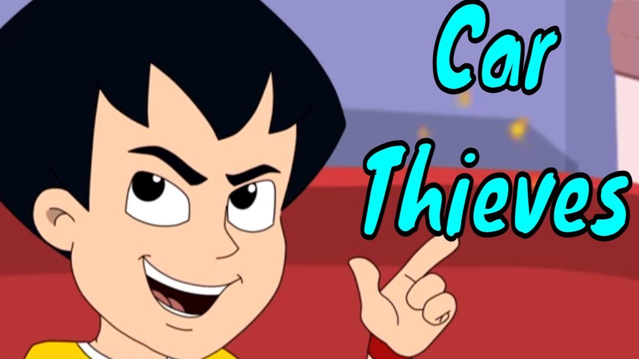 Chimpoo Simpoo - Episode 16 | Car Thieves | Funny Hindi Cartoon Series