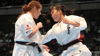 The 45th ALL JAPAN KARATE TOURNAMENT Women Final 水野寧々vs加藤小也...