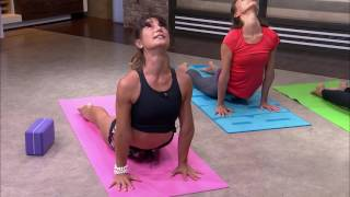 Video 25 Minute Core-Strengthening Vinyasa Yoga Flow download MP3, 3GP, MP4, WEBM, AVI, FLV Maret 2018