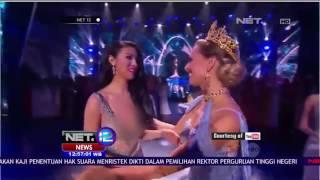 Ariska Putri Pertiwi Membawa Mahkota Miss Grand International 2016 - NET 12