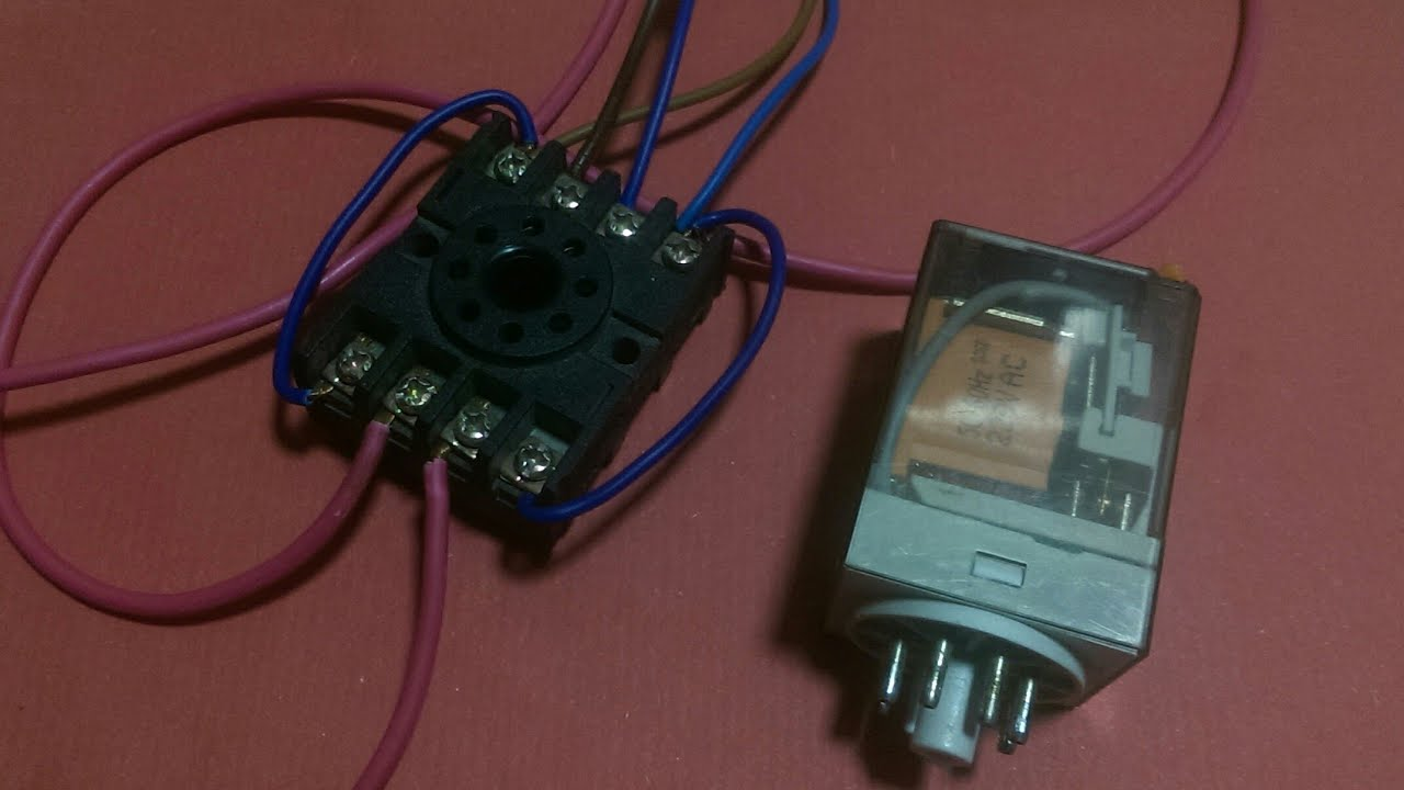 small resolution of how to do 8 pin glass relay detailed wiring connection 8 pin relay connection in urdu and hindi
