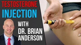 How To CORRECTLY Inject Testosterone with Dr. Brian Anderson