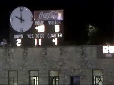 Ware Shoals High School (48) vs McCormick High School (6) Football Game, 2007