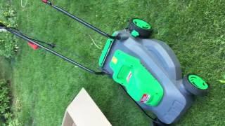 Наша новая электро газонокосилка Tatra Garden LME 180