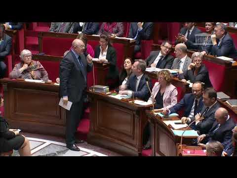 Olivier Gaillard Questions au Gouvernement ; Programmation des finances publique (24 octobre 2017)