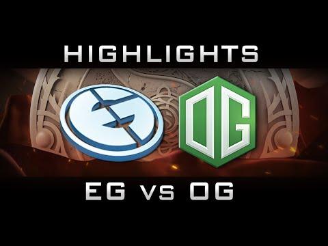 OG vs EG The International 2016 TI6 Highlights Dota 2