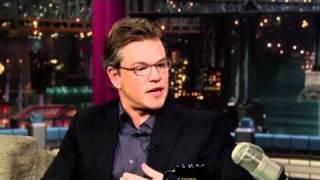 Matt Damon Does Matthew McConaughey For a Third Time !