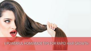 homemade tips for healthy hair growth