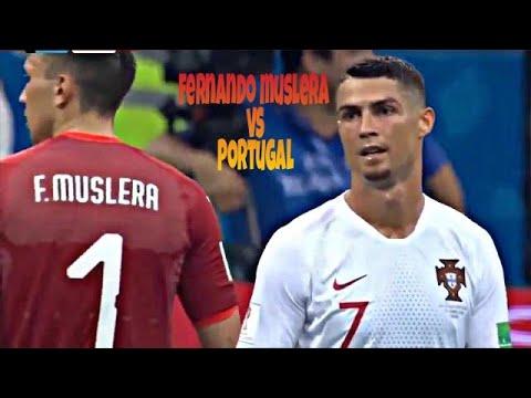 Fernando muslera vs Portugal  2018