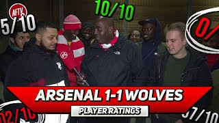 Arsenal 1-1 Wolves Player Ratings | How Did Ozil Score? (Ft Troopz)