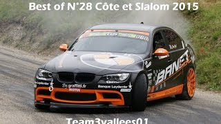 Best of course de côte et slalom auto 2015