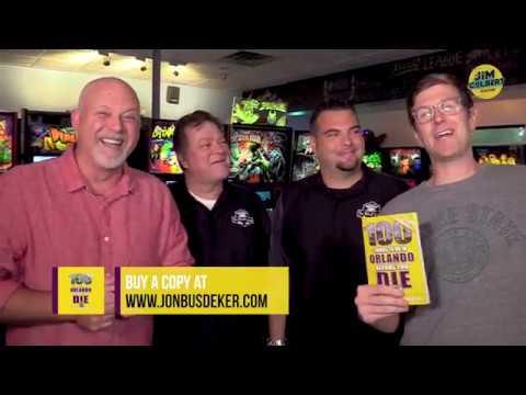The Jim Colbert Show - Jim & Jon At The Pinball Lounge In Oviedo!!
