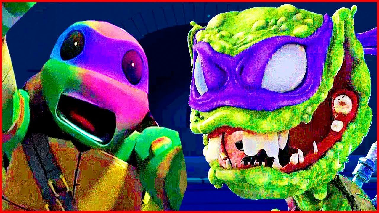 картинки черепашки ниндзя монстры против мутантов помощью