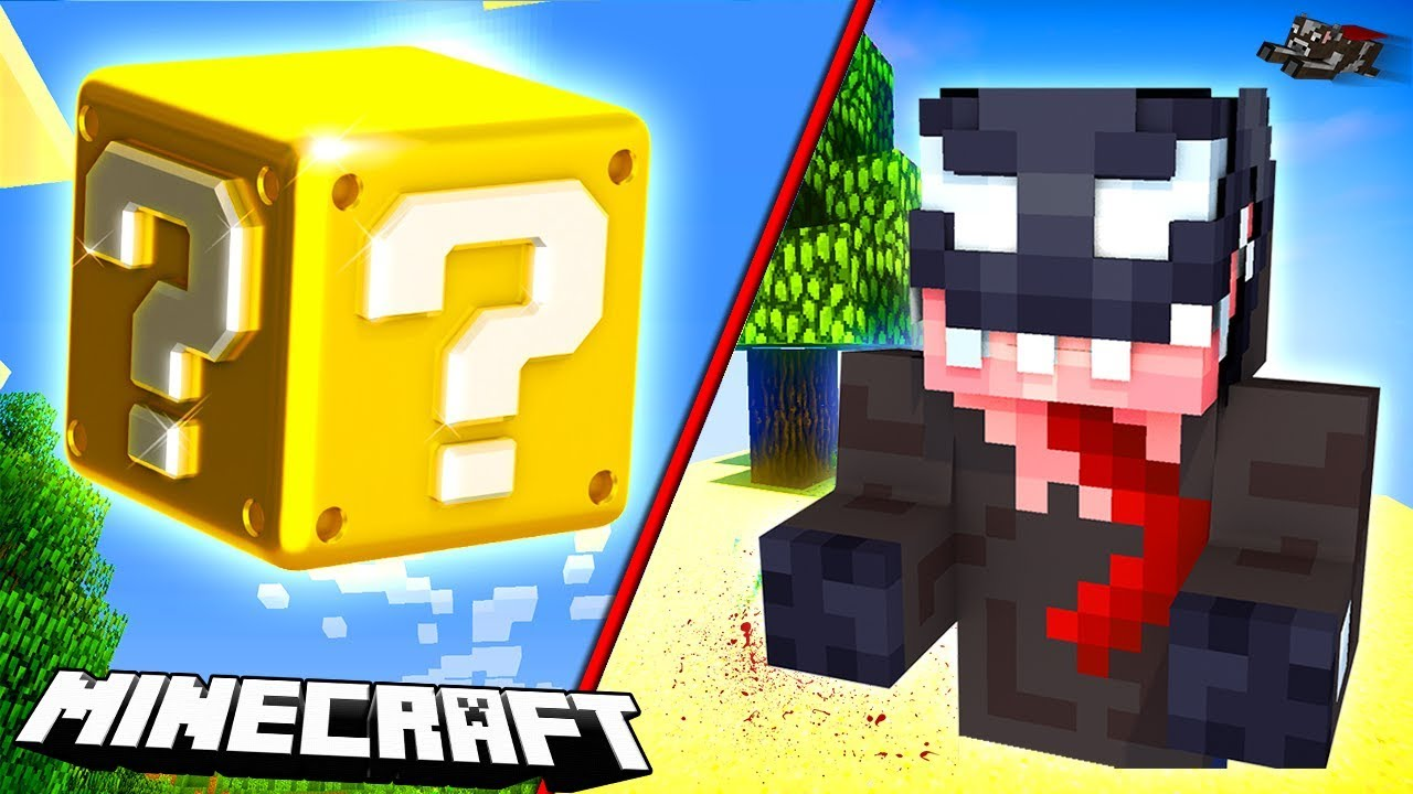 LUCKY BLOCK CHALLENGE W MINECRAFT!