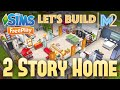 Sims FreePlay - Let's Build a 2 Story Family Home (Live Build Tutorial)