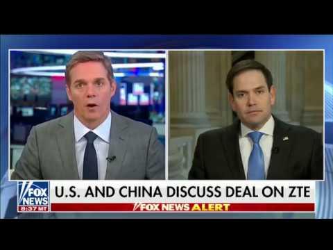 On America's Newsroom, Rubio Discusses  Media Misrepresentation of Israel, Chinese Telecomms