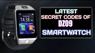 LATEST SECRET CODES OF DZ09 SMARTWATCH