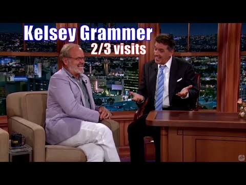 Kelsey Grammer  He Does A Scottish Accent  23 Appearances On Craig Ferguson