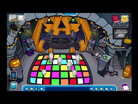 Me And The Bois In The Club Penguin Halloween Event