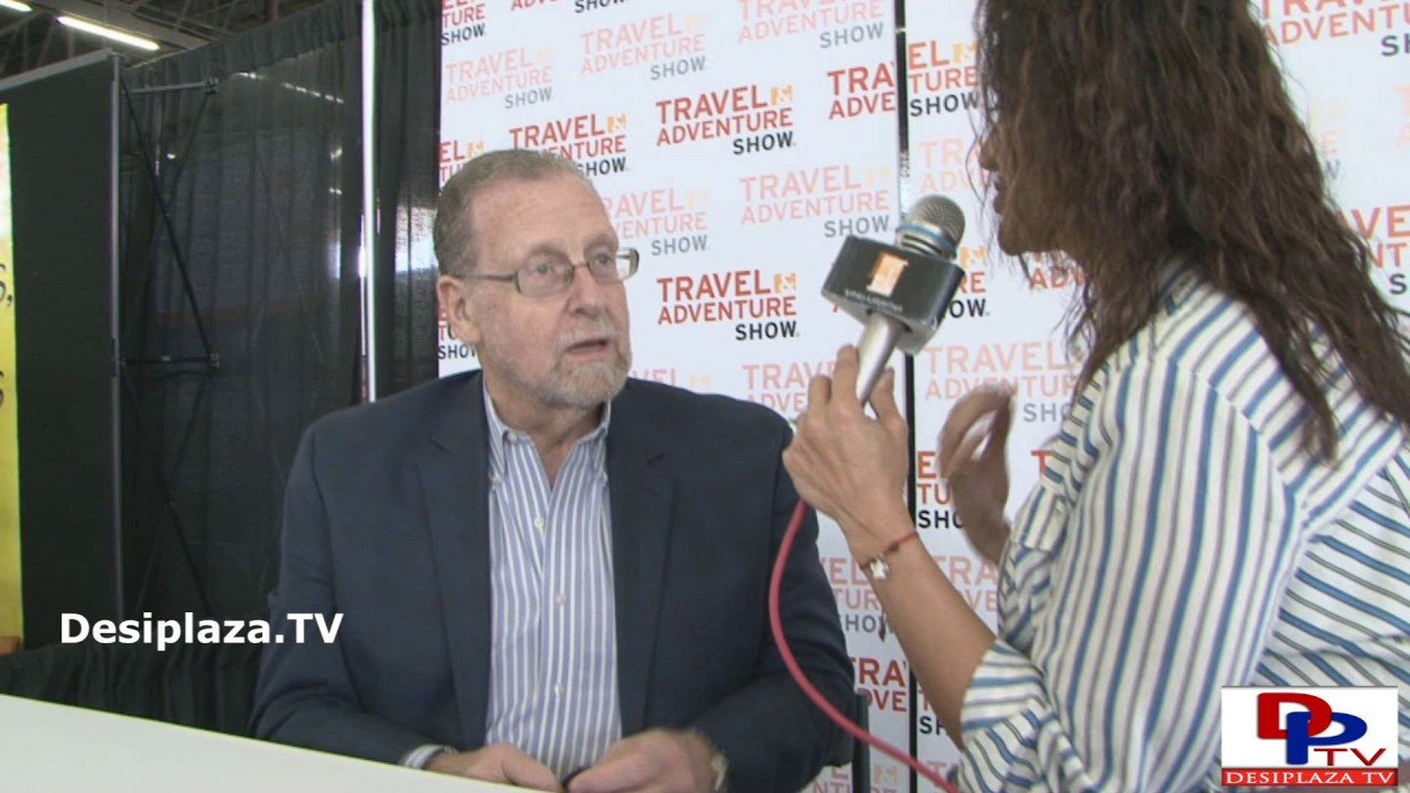 Peter Greenberg,Travel Detective show Host speaking to Desiplaza TV.