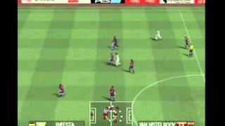Pro Evolution Soccer 2008 PS2 Barcelona vs Real Madrid