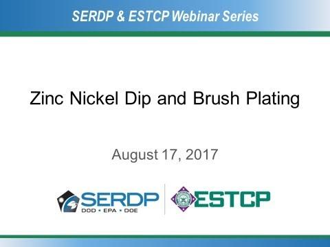 Zinc Nickel Dip and Brush Plating