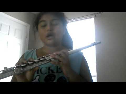 jingle bells flute notes