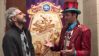 Interview with Ringling Bros Circus Xtreme ringmaster David Shipman