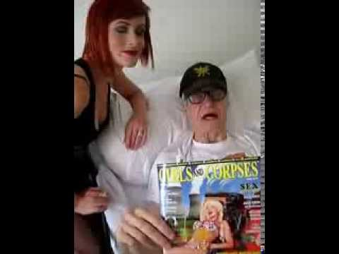 KIM FOWLEY (RIP) on his deathbed. You will be missed my friend.