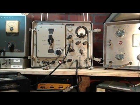 Hammarlund SP-600 Video #32 - Signal Generator SG-85/URM-25D