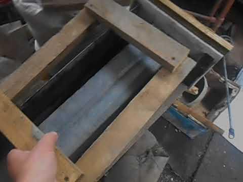 лоток водоотводной сделай сам пока в магазинах нет форм а готовый стоит как мешок цемента