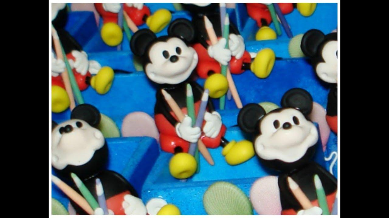 Frases Para Lembrancinhas De Aniversario: Mickey De Biscuit Na Caixinha De Surpresas