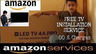 AMAZON TV INSTALLATION SERVICE