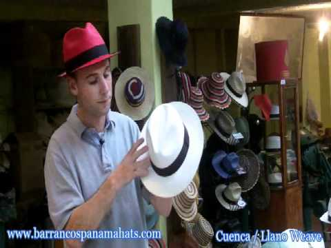 About the Cuenca & Brisa Weave of Panama Hats