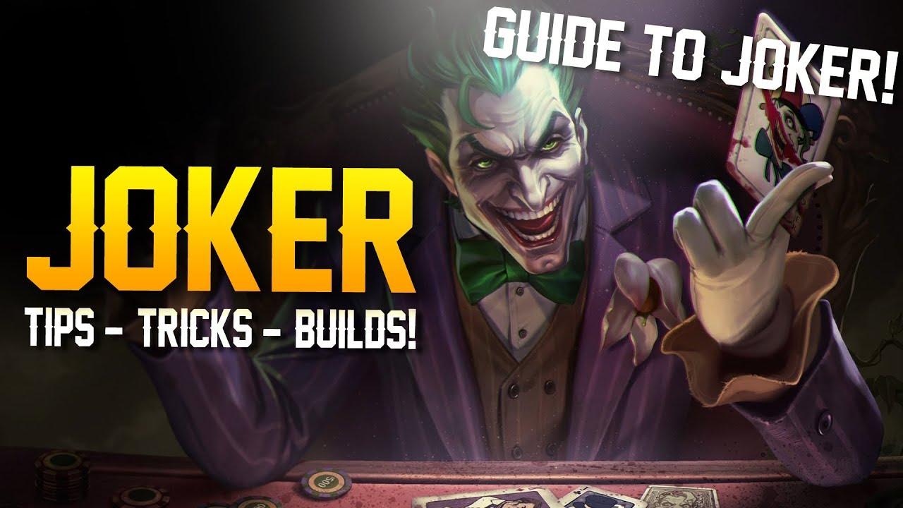 arena of valor how to play joker tips tricks builds. Black Bedroom Furniture Sets. Home Design Ideas