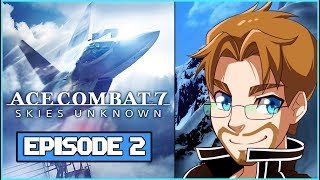 K-Teen: Ace Combat 7 - Skies Unknown Episode 2 F-14 Gameplay Missions 4-5